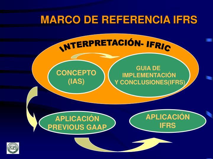 MARCO DE REFERENCIA IFRS