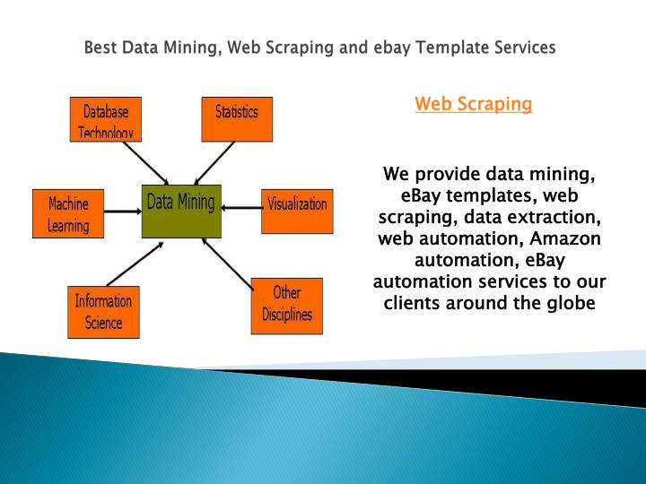 Best data mining web scraping and ebay template services1
