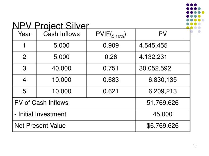 NPV Project Silver