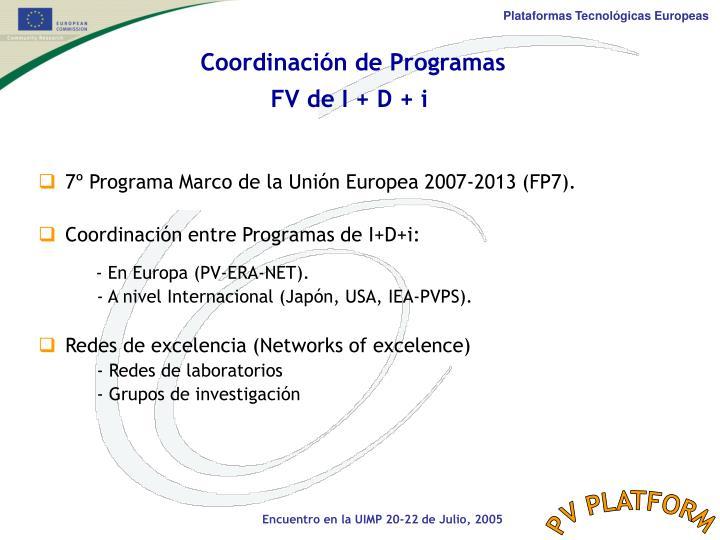 Coordinación de Programas