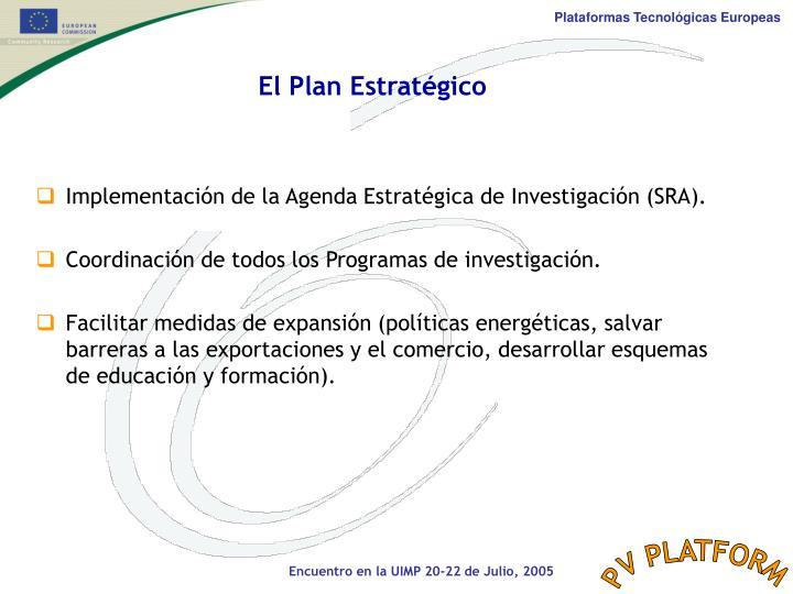 El Plan Estratégico