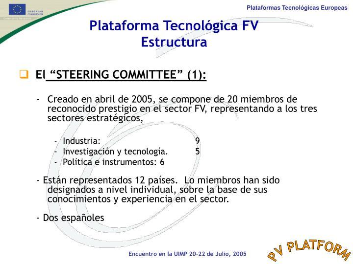 Plataforma Tecnológica FV