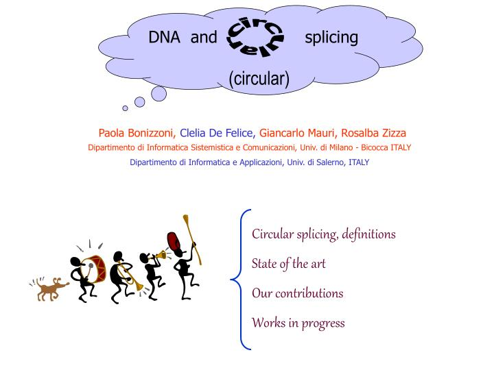 DNA  and                 splicing