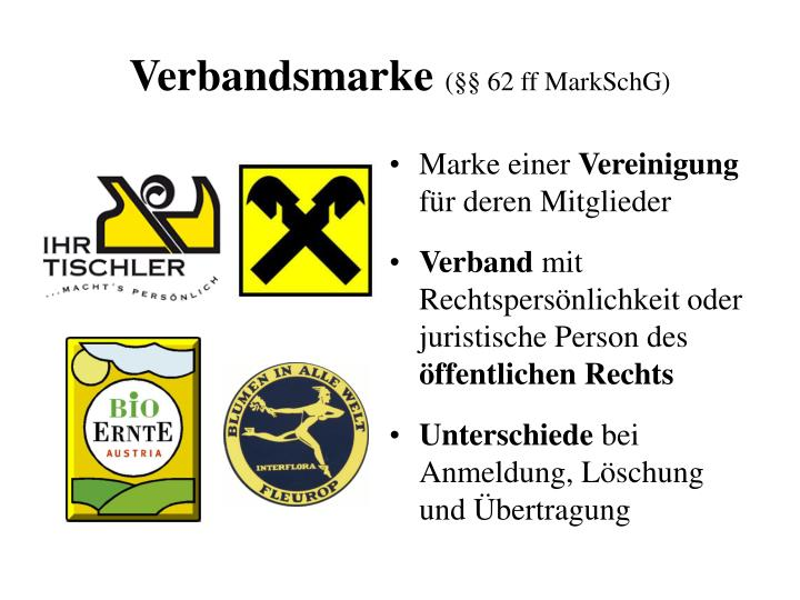 Verbandsmarke