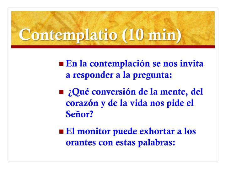 Contemplatio (10