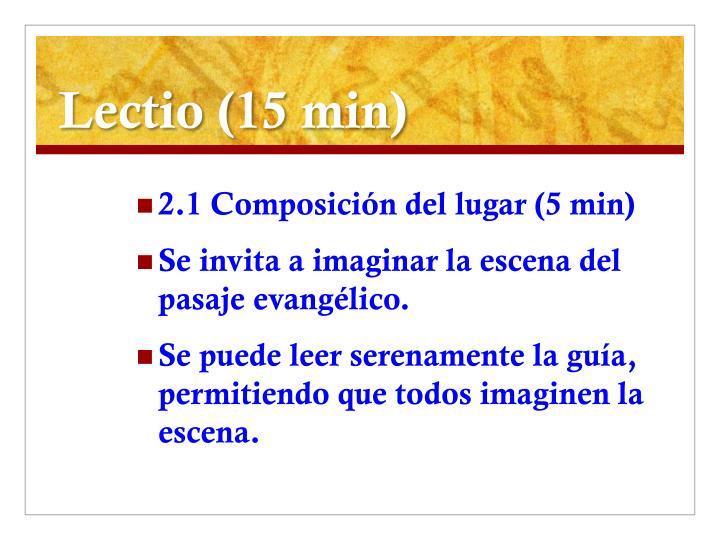 Lectio (15