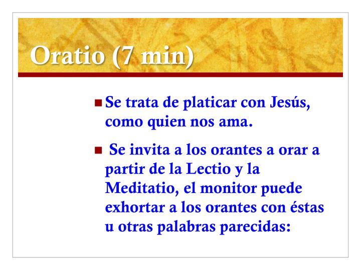 Oratio (7