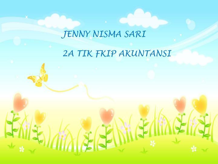 JENNY NISMA SARI