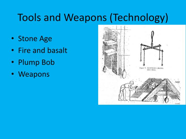 Tools and Weapons (Technology)