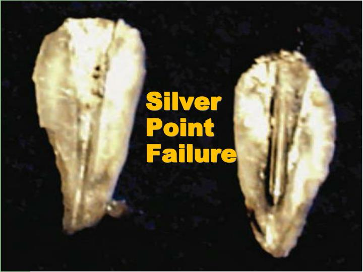 Silver Point Failure