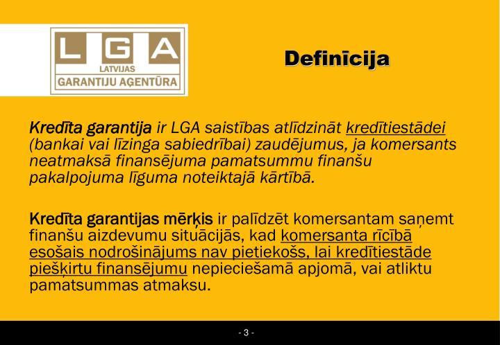 Definīcija