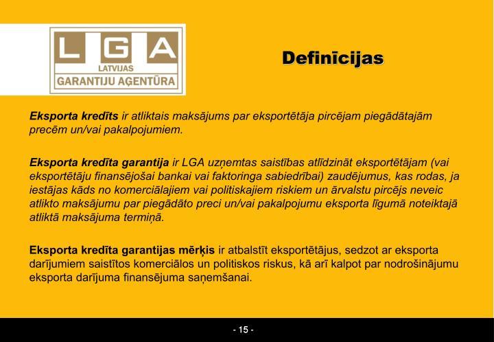 Definīcijas