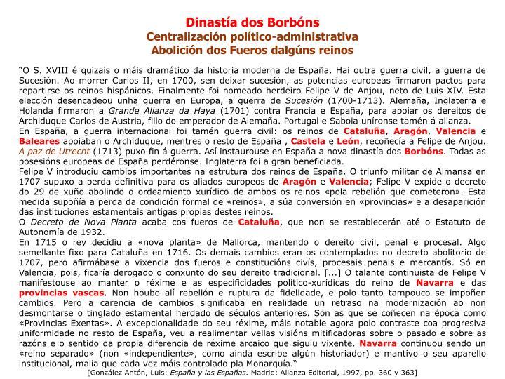 Dinastía dos Borbóns