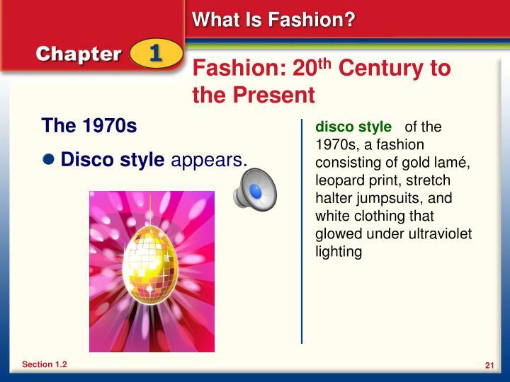 Fashion: 20