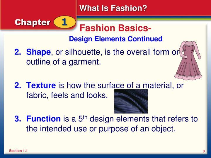 Fashion Basics-