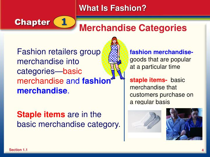Merchandise Categories