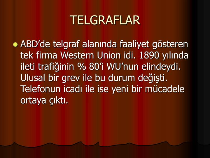 TELGRAFLAR