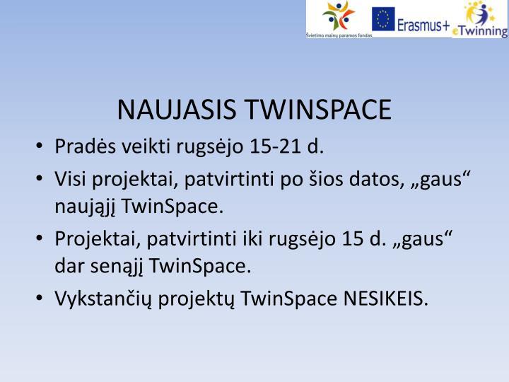 NAUJASIS TWINSPACE