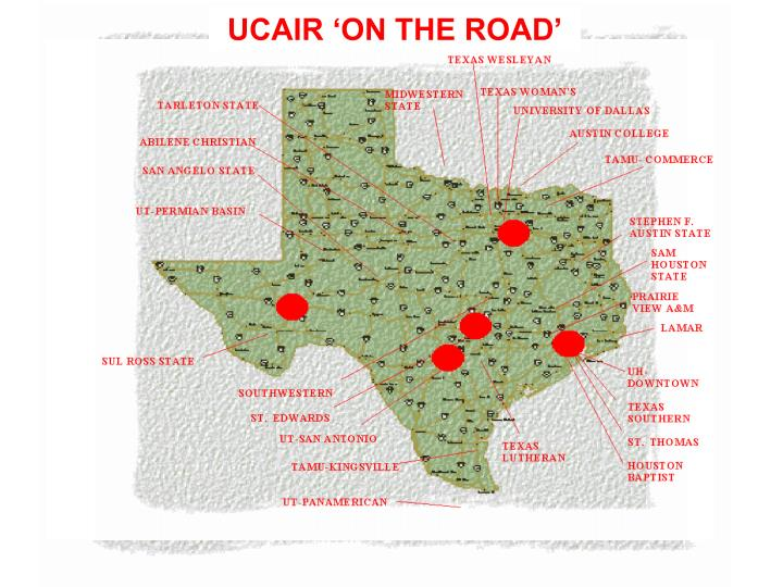 UCAIR 'ON THE ROAD'