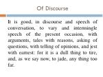 of discourse4
