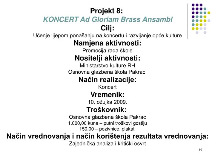 Projekt 8: