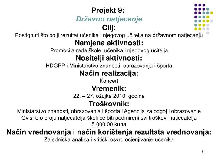 Projekt 9: