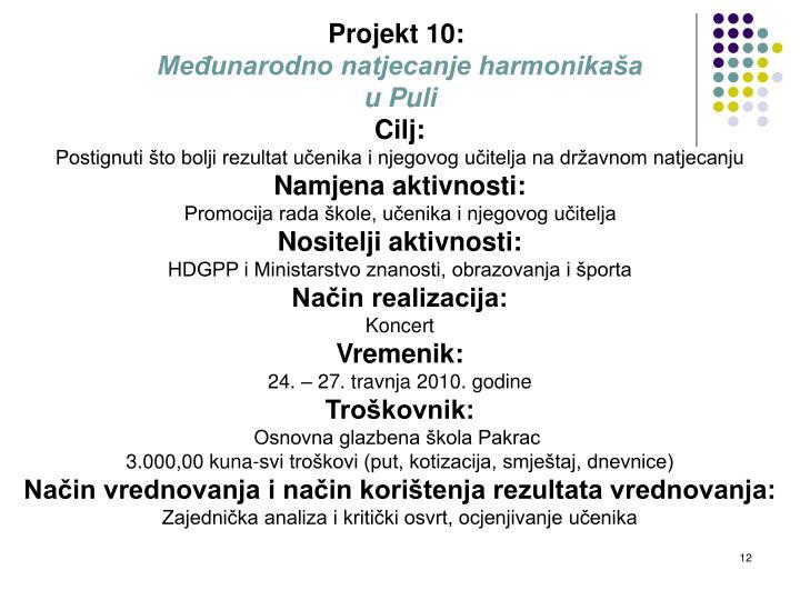 Projekt 10:
