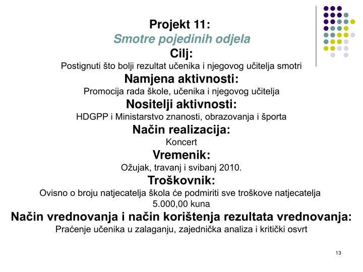 Projekt 11: