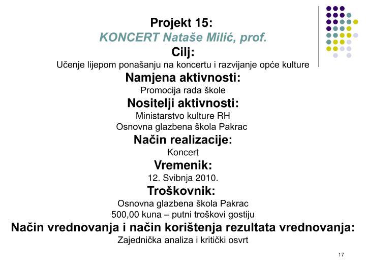 Projekt 15: