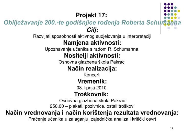 Projekt 17: