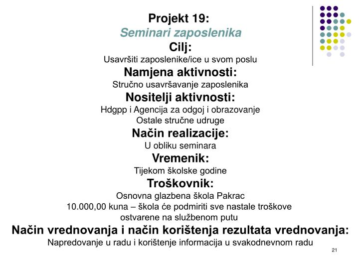 Projekt 19: