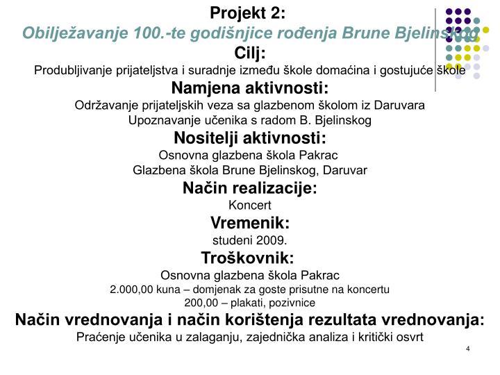 Projekt 2: