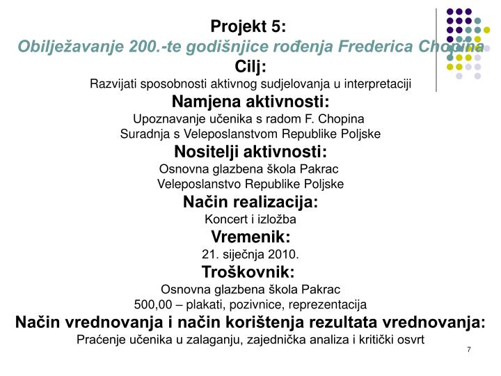 Projekt 5: