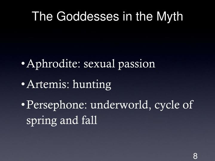 The Goddesses in the Myth