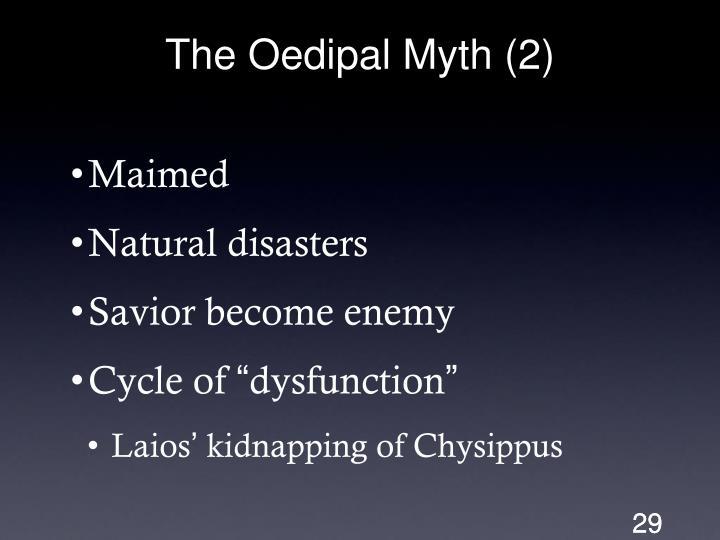 The Oedipal Myth (2)