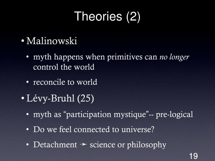 Theories (2)