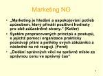marketing no