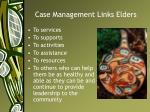 case management links elders