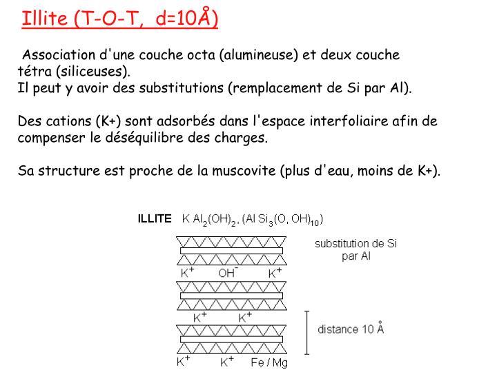 Illite (T-O-T, d=10Å)