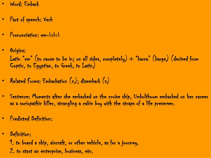 Ppt Word Benevolent Part Of Speech Adjective