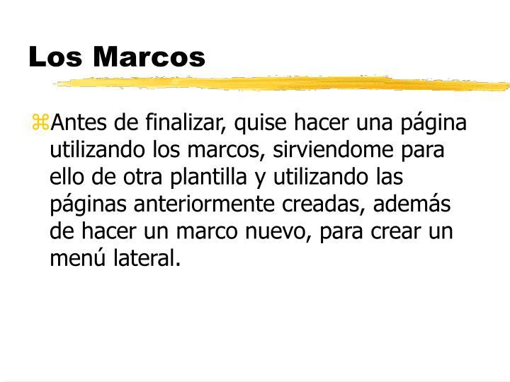Los Marcos