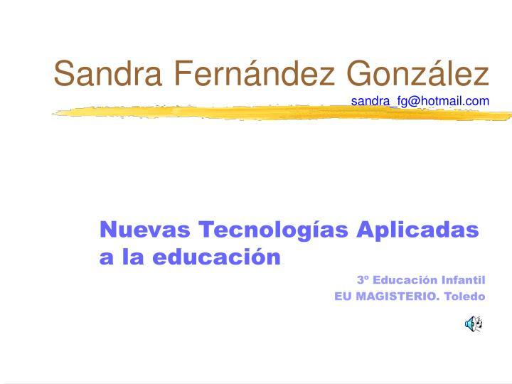 Sandra Fernández González