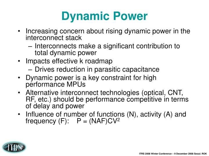 Dynamic Power