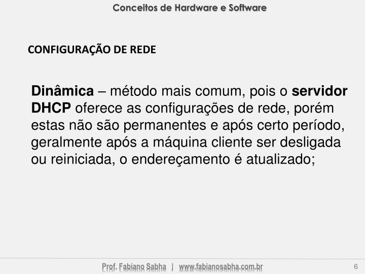Conceitos de Hardware e Software