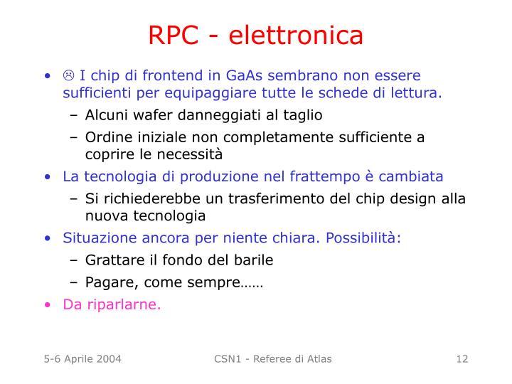 RPC - elettronica
