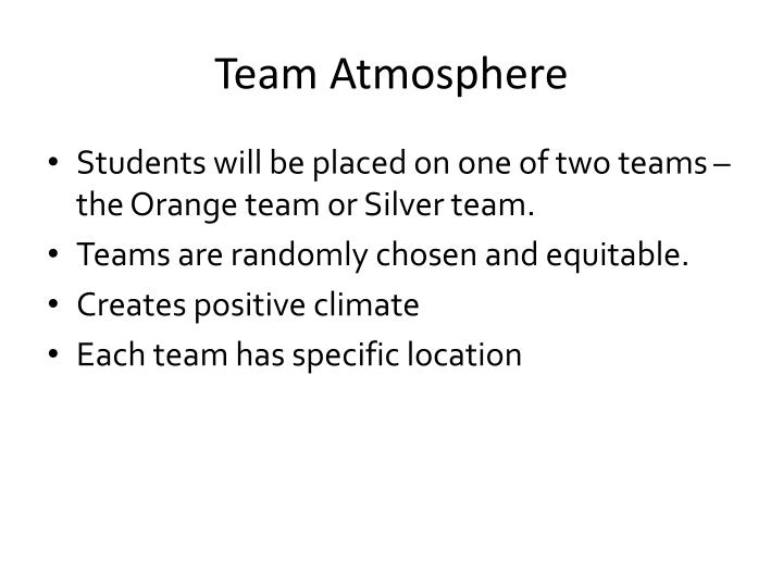 Team Atmosphere