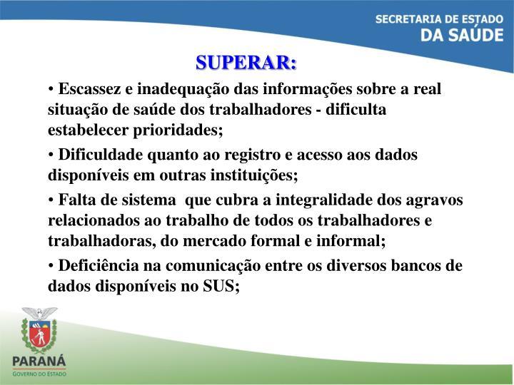 SUPERAR: