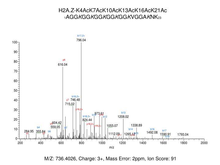 H2A.Z-K4AcK7AcK10AcK13AcK16AcK21Ac