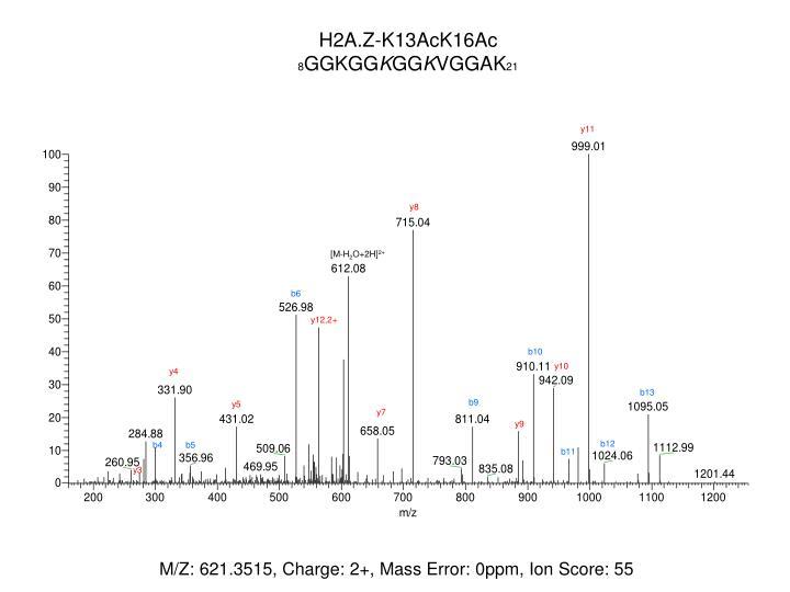 H2A.Z-K13AcK16Ac