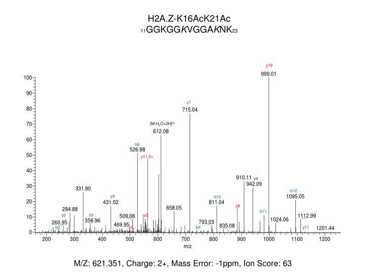H2A.Z-K16AcK21Ac